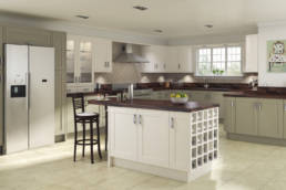 Trend Painted Kitchen